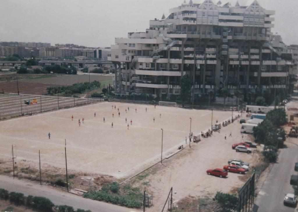 Así era el Campo de Benimaclet en los años noventa... | Foto: Sporting Benimaclet