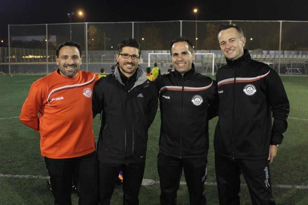 Técnicos del Atlétic Beteró | Foto: Paco Polit