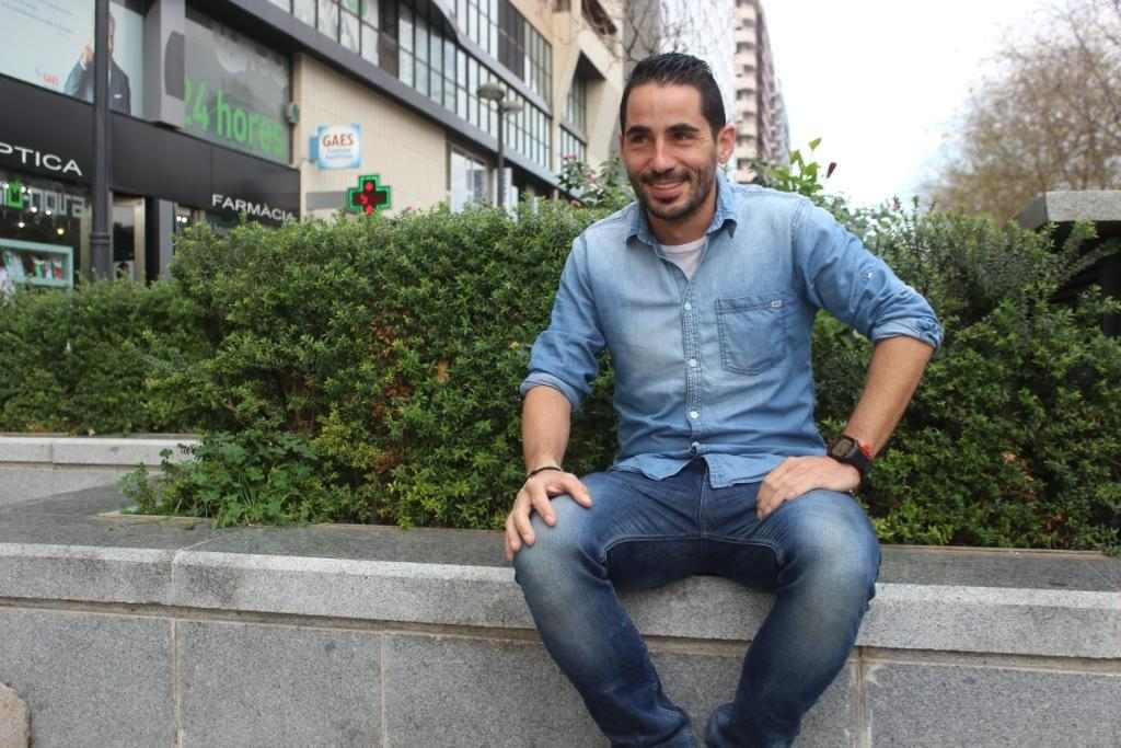 Rubén Mora, durante la entrevista | Foto: Paco Polit