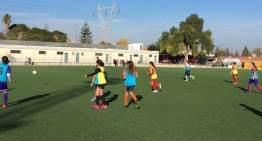 Amistoso de preparación para la Selección Valenciana femenina Sub-12 el lunes 14