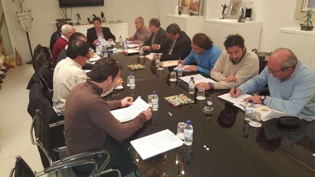 Reunión del Comité Deportivo de Fútbol Base | Foto: FFCV