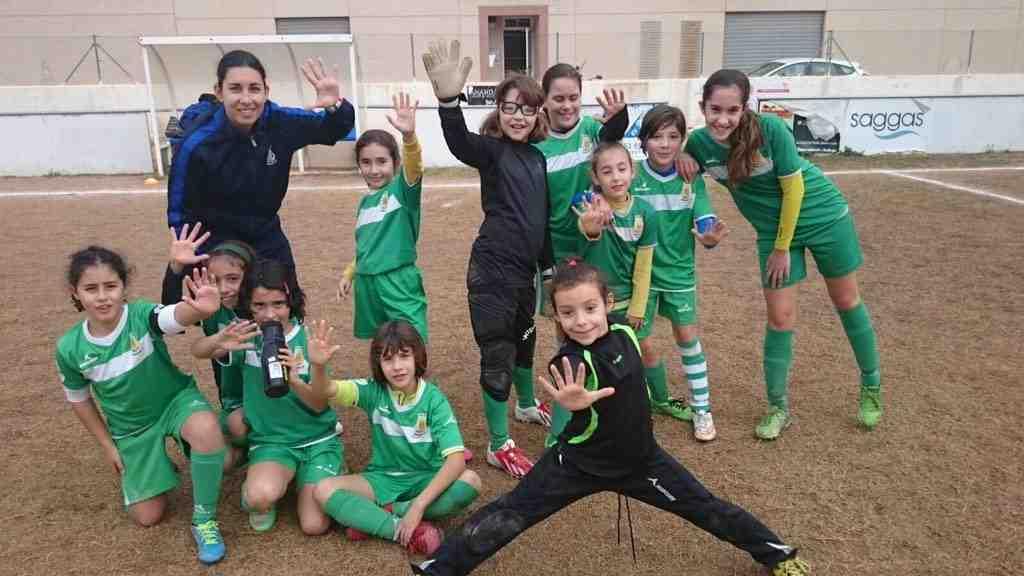 La chicas del FB Moncada Femenino | Foto: FB Moncada Femenino