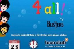 """Los Beatles llegan a Valencia, por medio de la banda tributo """"The Blisters"""""""