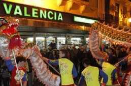 Celebra el año nuevo chino en Valencia al estilo oriental