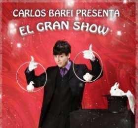 Cartel promocional de Carlos Barfi y su Gran Show