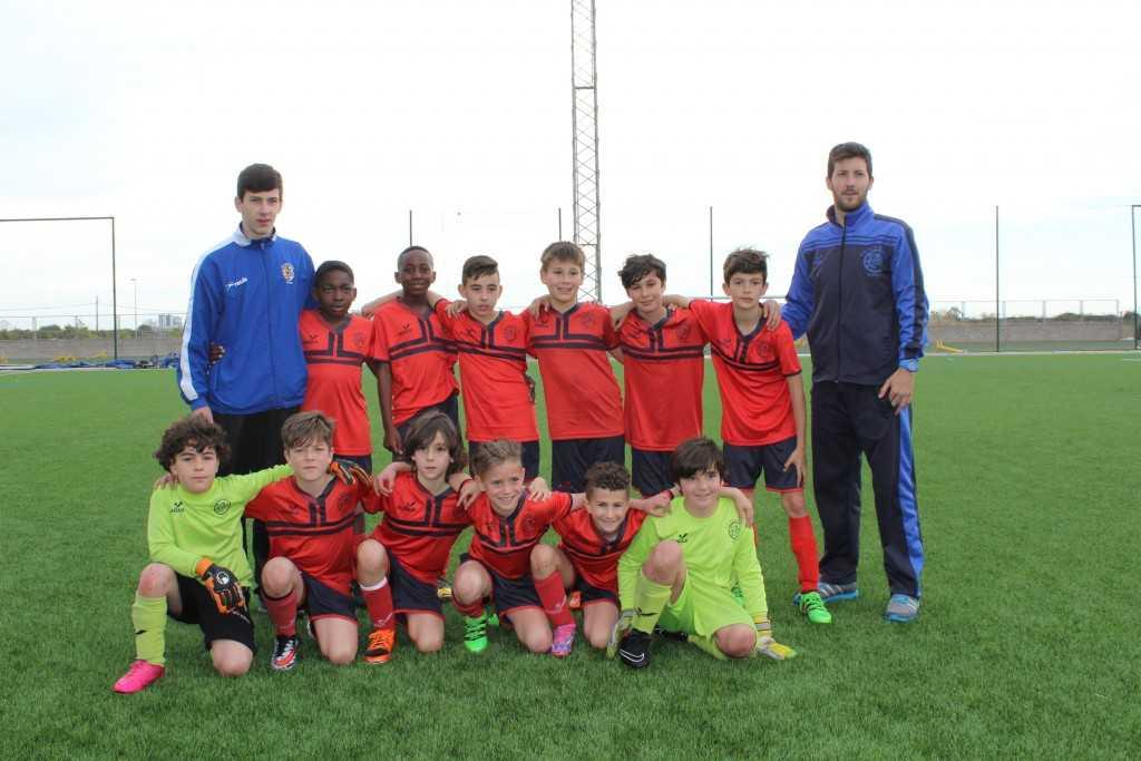 CD Don Bosco, campeones Copa Oro categoría Benjamín 2do año | Foto: Carlos Botella