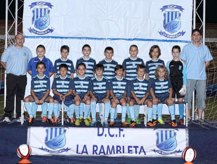 Alevin C del Deportivo La Rambleta | Foto: Deportivo La Rambleta