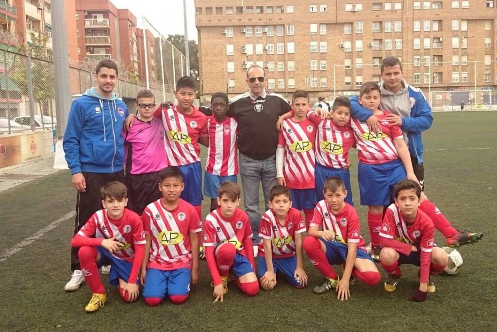 El CF Malvarrosa fue el anfitrión | Foto: CF Malvarrosa