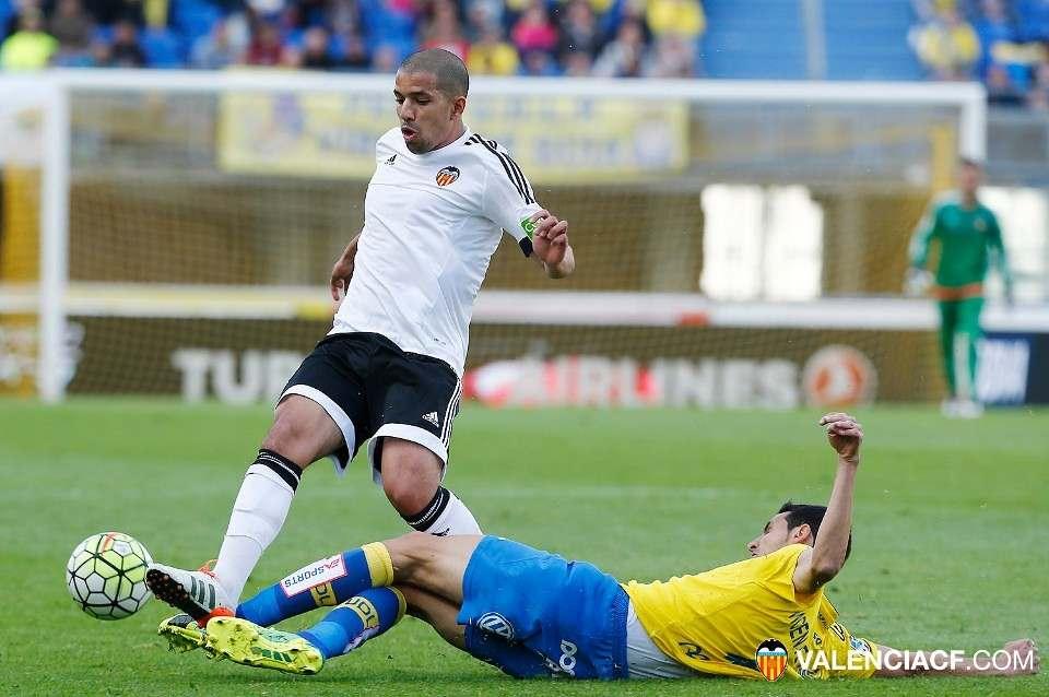 Feghouli, la semana pasada ante Las Palmas | Foto: Lázaro de la Peña / VCF