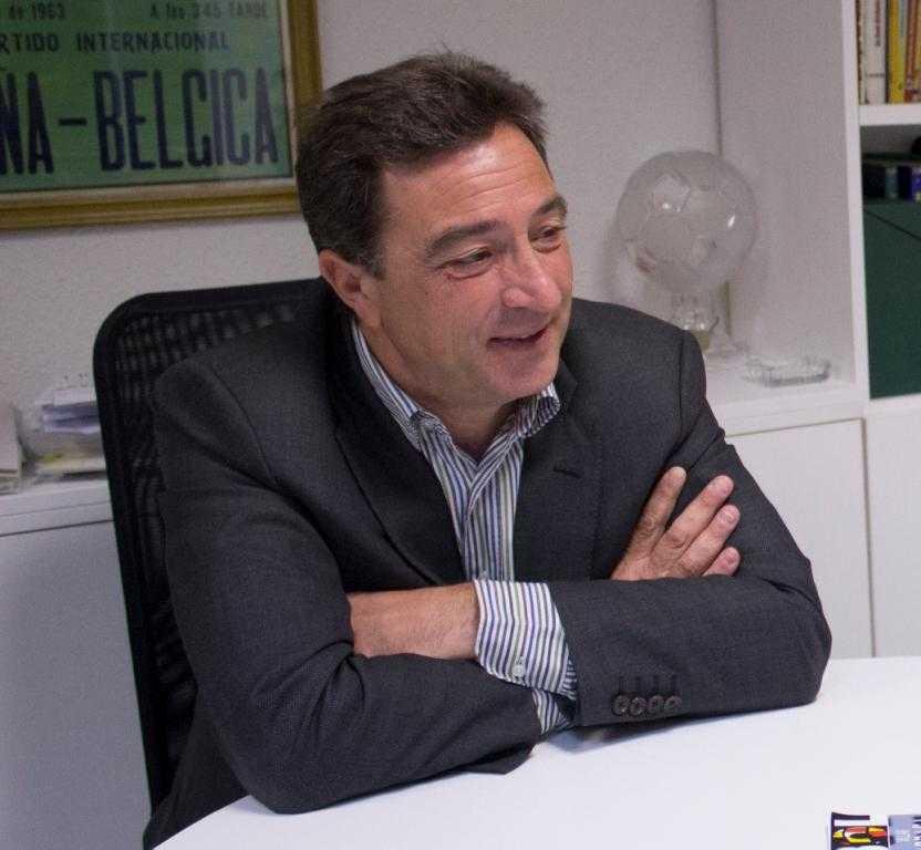 Salvador Gomar, durante la entrevista | Foto: Carlos Botella