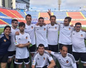 Carlos Marchena con el Valencia CF | ESPORTBASE