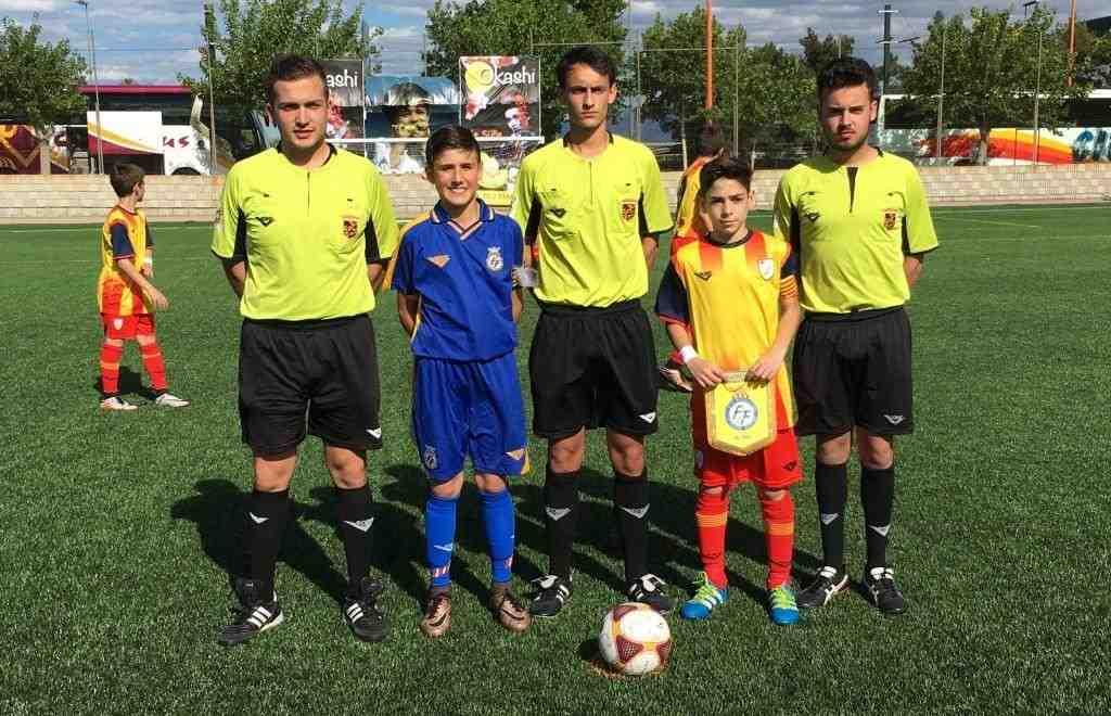 Capitanes de Comunidad Valenciana y Cataluña | Foto: FFCV