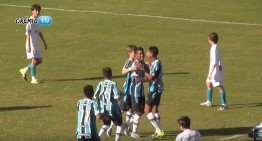 El infantil Luciano (Gremio de Porto Alegre) marca uno de los goles de 2016