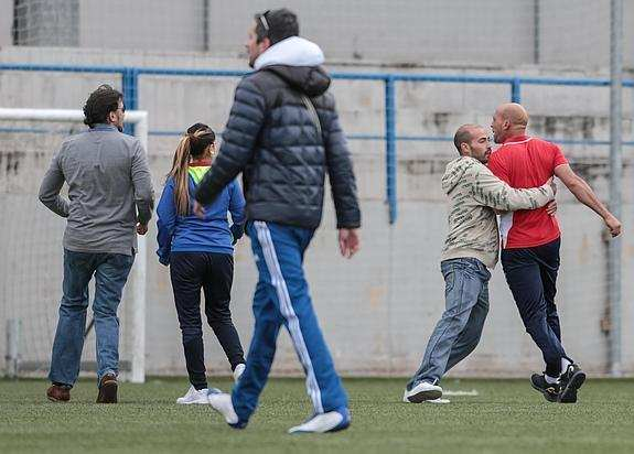 Imagen de la pelea en Granada   Foto: Ideal de Granada