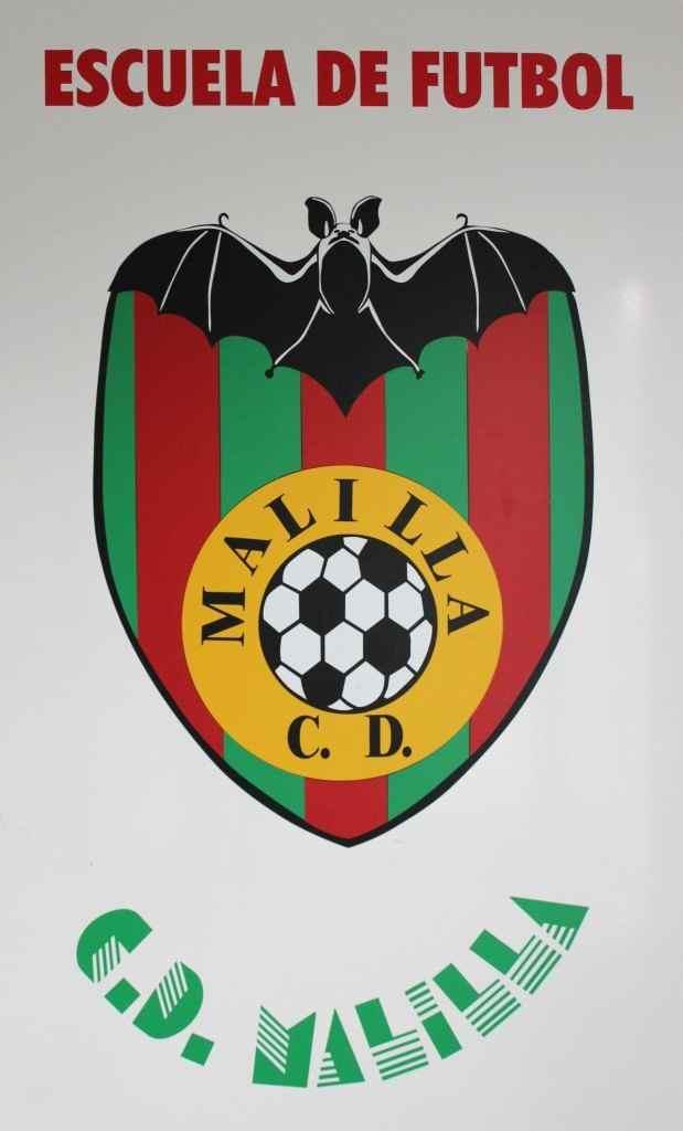 Escudo del CD Malilla | Foto: Paco Polit