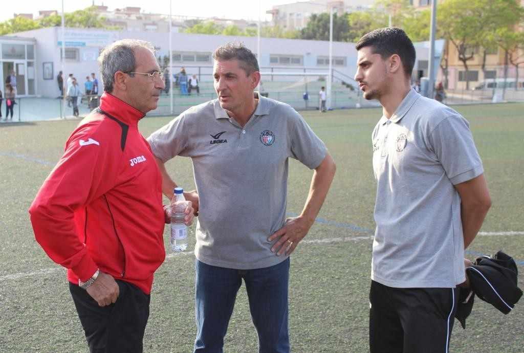 Martínez, Escudero padre y Escudero hijo | Foto: Paco Polit