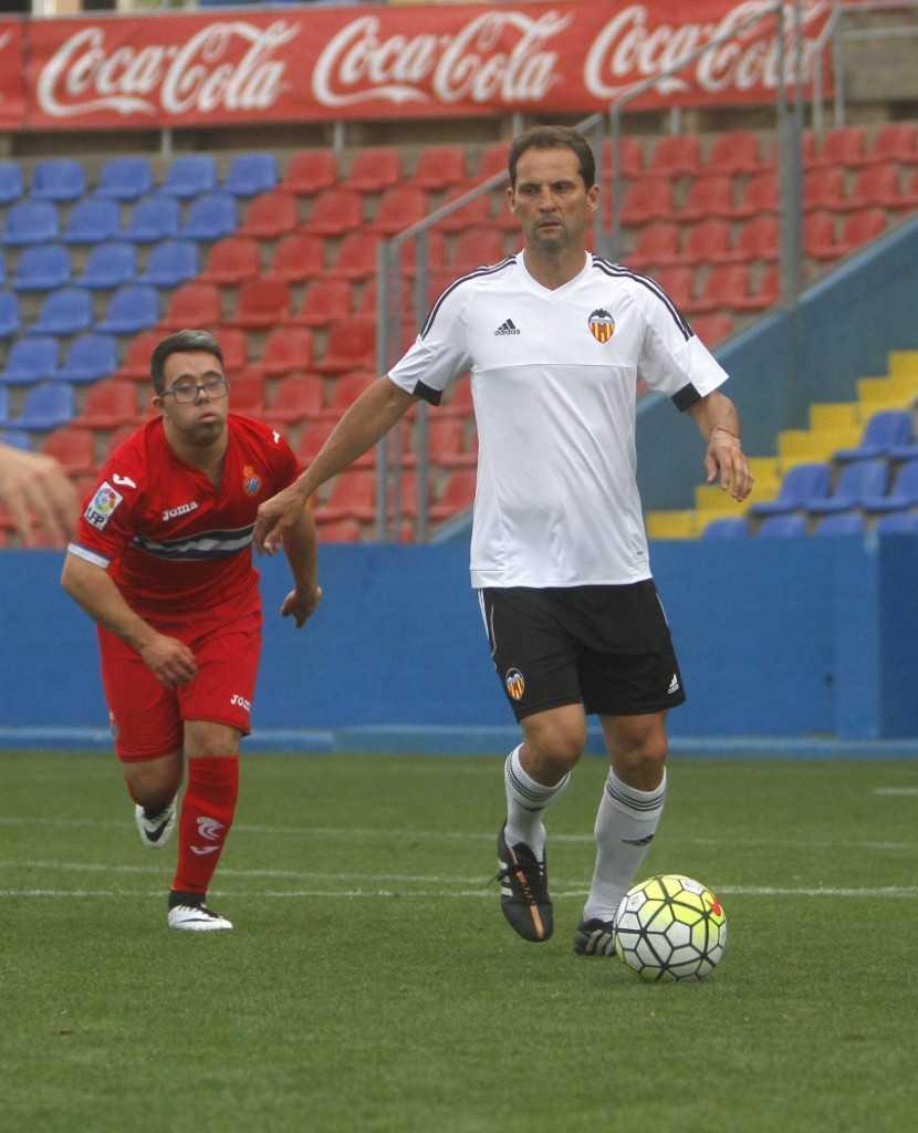Giner, durante el torneo | Foto: Levante UD