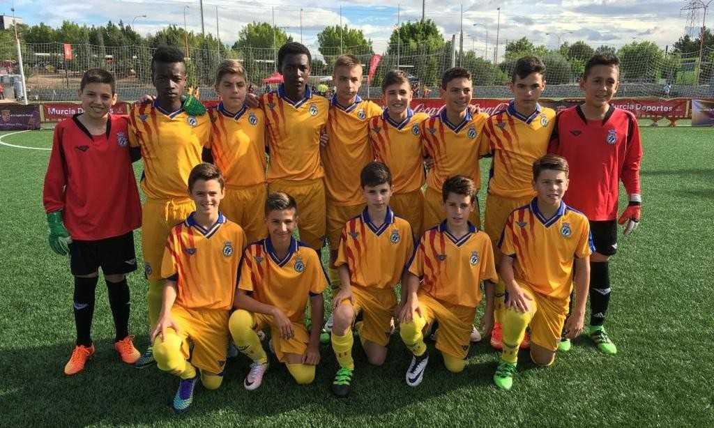 Once de la Selección Valenciana sub-12 en su debut | Foto: FFCV