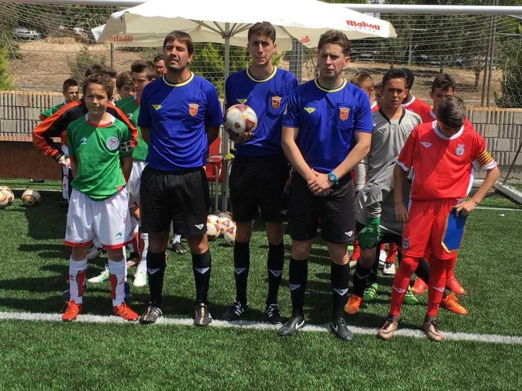 Los jugadores del País Vasco - Comunidad Valenciana, preparados | Foto: FFCV