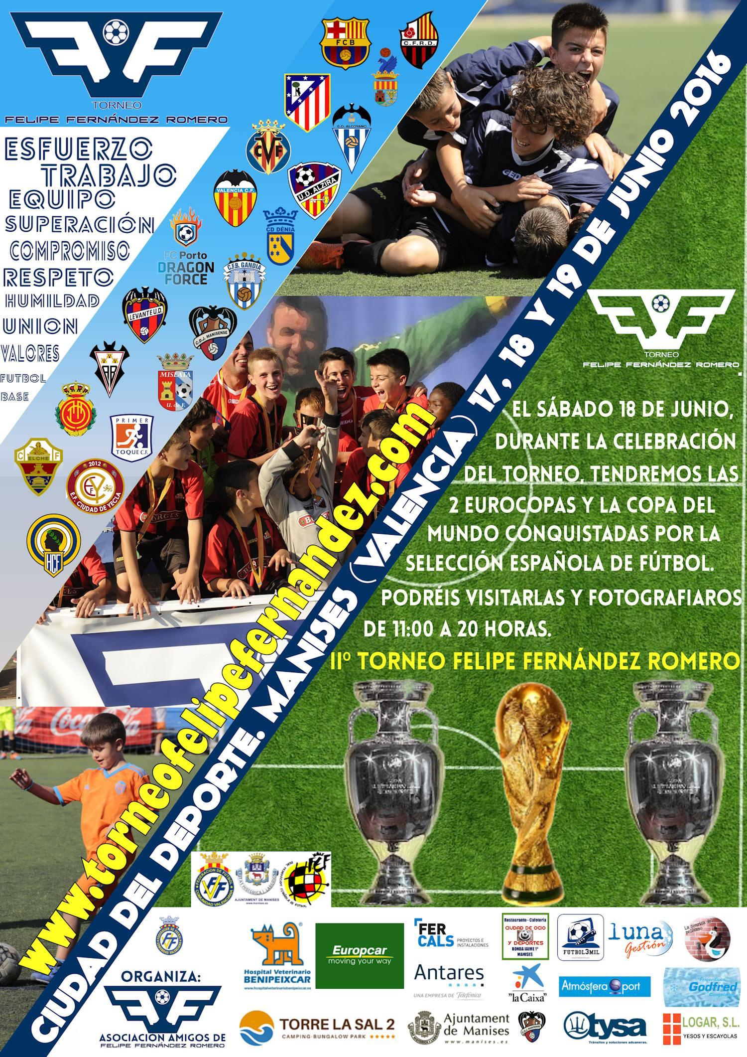 Cartel II Torneo Felipe Fernández