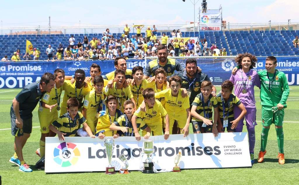 Equipo del Villarreal CF Alevín | Foto: David González / LaLiga
