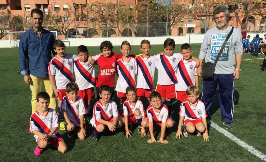 El Prebenjamín 'A' del Atlético San Blas es uno de los participantes | Foto: Atlético San Blas