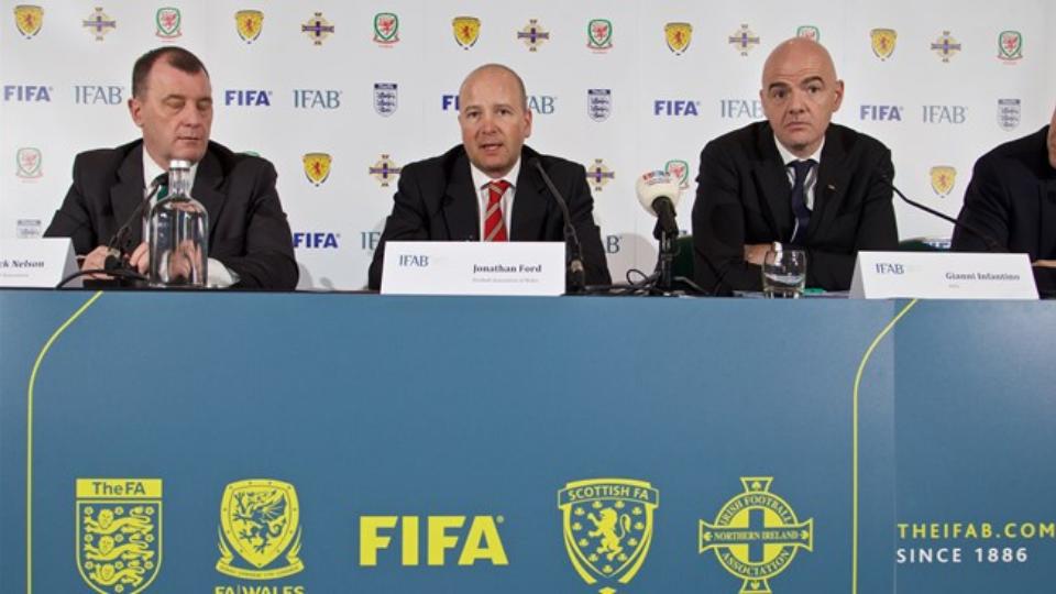 Representantes de la IFAB en la reunión de febrero de 2016 | Foto: IFAB