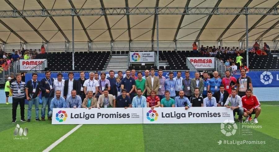 Técnicos presentes en la reunión | Foto: LFP
