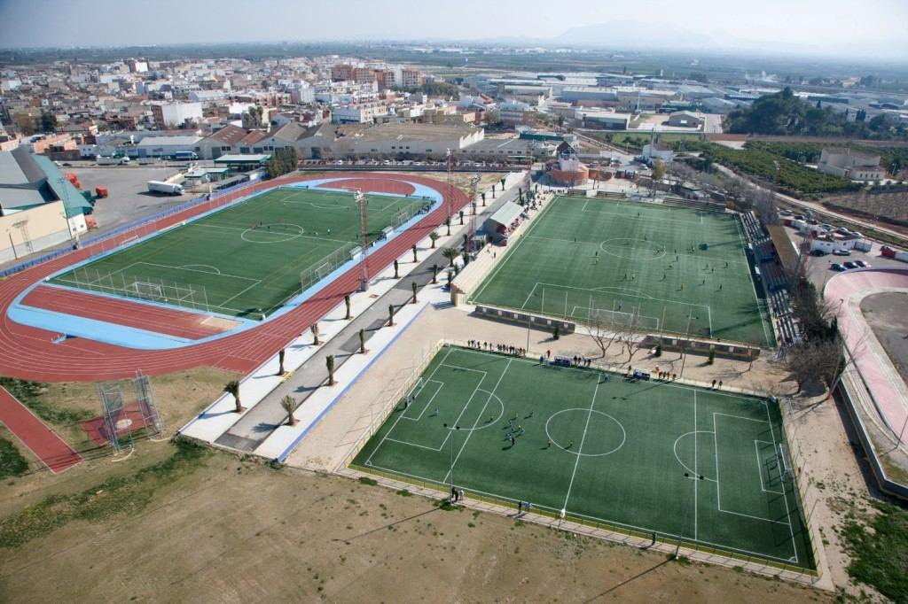 Plano aéreo de la Ciudad Deportiva de Els Arcs | Foto: COTIF