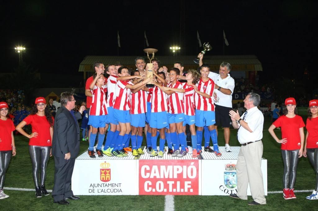 campeón Alevín 2012 | Foto: COTIF