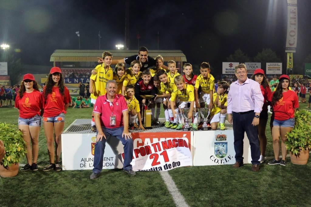 MSA, campeón Prebenjamín 2014 | Foto: COTIF