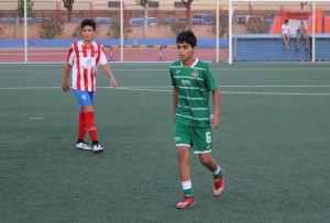Dudu con la Selección Sahara | FOTO: Sergi López