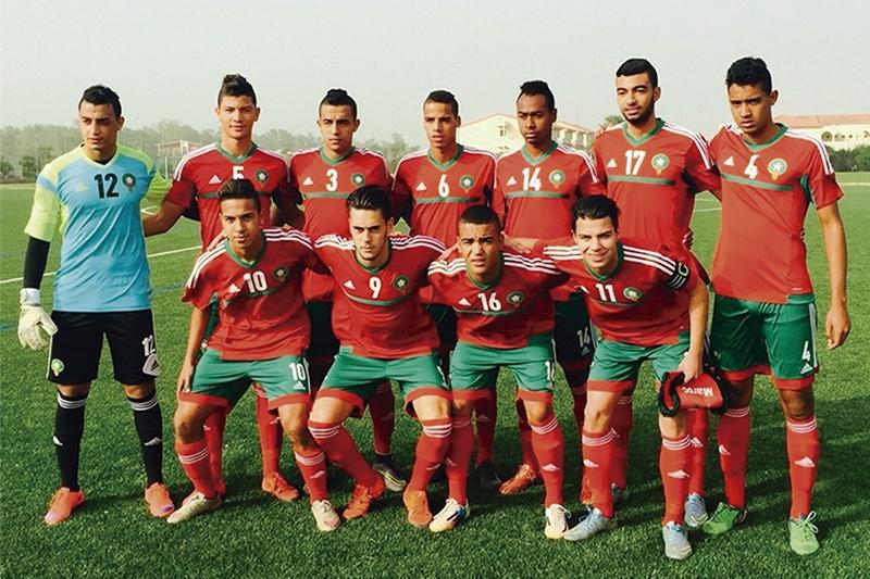 Selección sub-20 de Marruecos | Foto: COTIF
