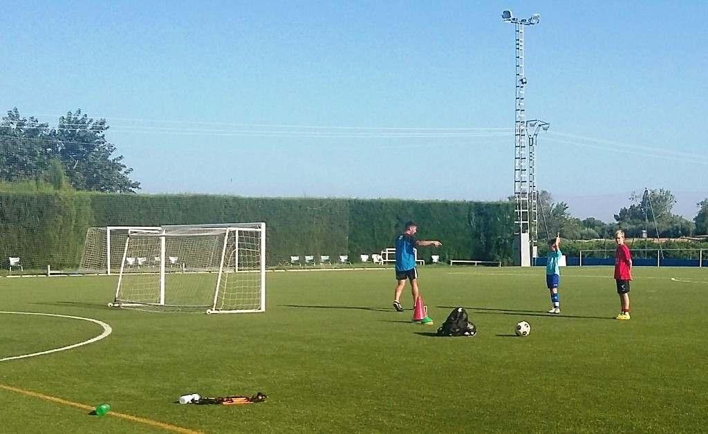 Imagen del primer entrenamiento | Foto: CD El Planter DV7