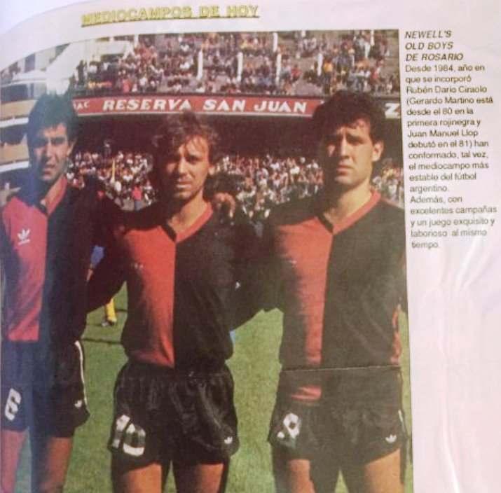 Llop, Ciraolo y 'Tata' Martino | Foto: El Gráfico