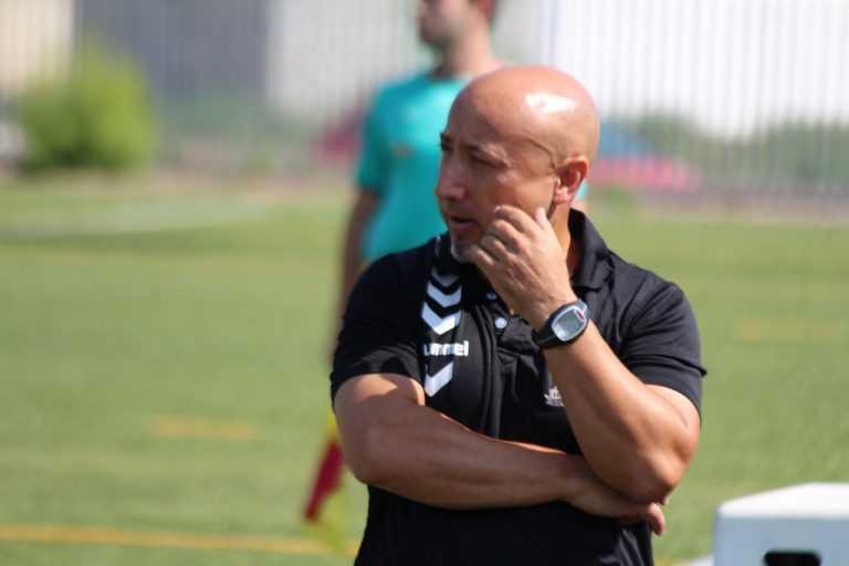 Rascó, técnico del Juvenil A | Foto: CF Huracán