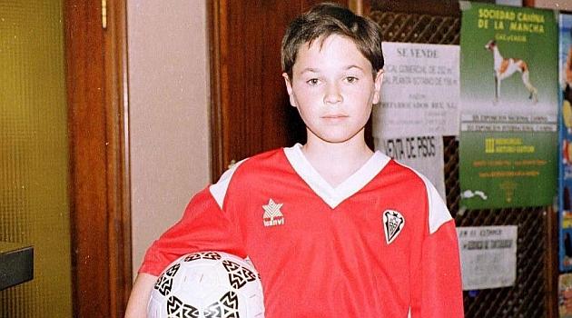 Iniesta, cuando militaba en el Albacete | Foto: Marca