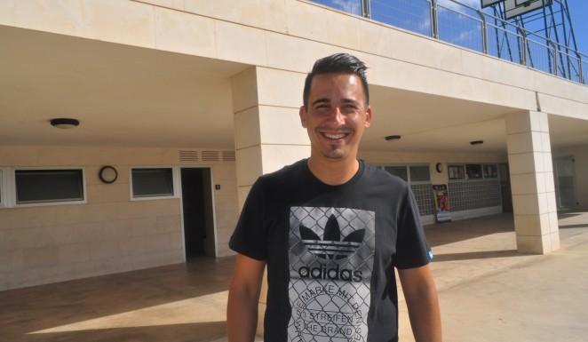 Jorge Olivares, técnico del Hércules CF Juvenil | Foto: Hércules CF