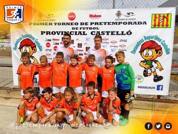 Equipo Benjamín D | Foto: Primer Toque CF