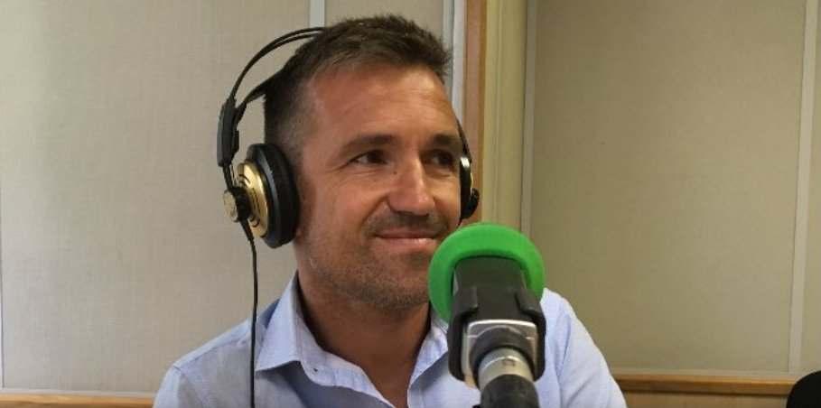 Tito, durante la entrevista | Foto: Onda Deportiva Valencia