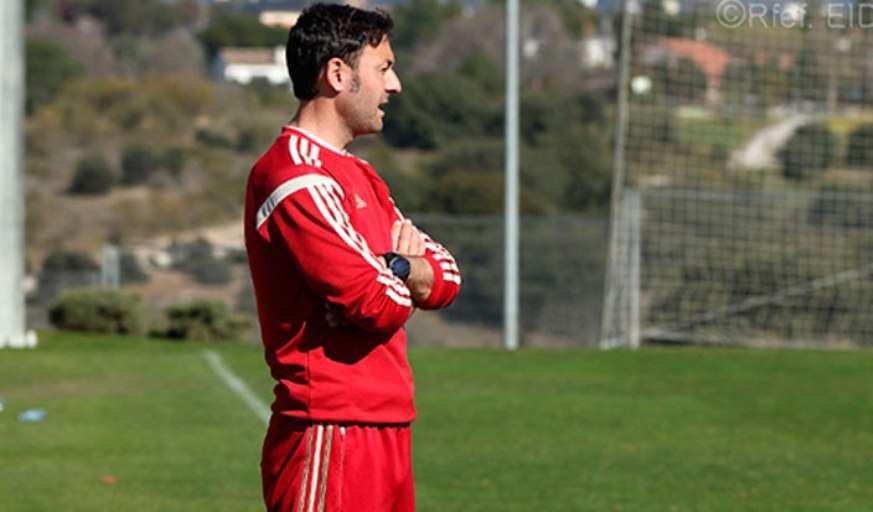 El seleccionador sub-17 Santi Denia | Foto: RFEF
