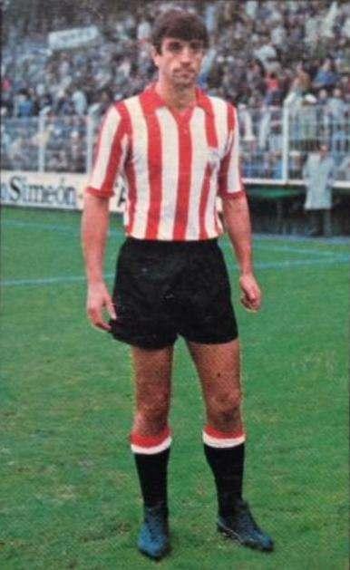 Cromo de Alesanco en su etapa en el Athletic | Foto: todocoleccion.net