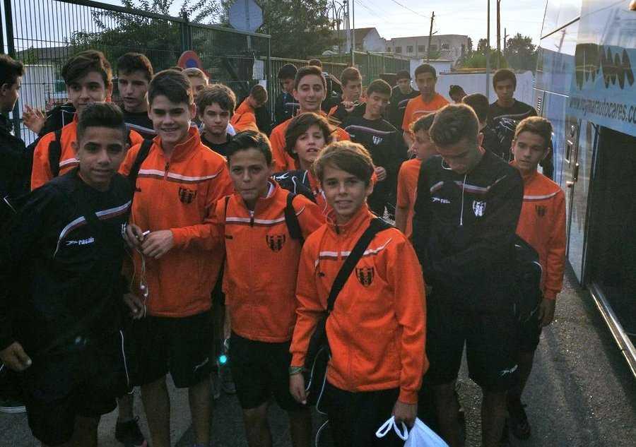 Jugadores Infantiles del Patacona CF | Foto: Patacona CF