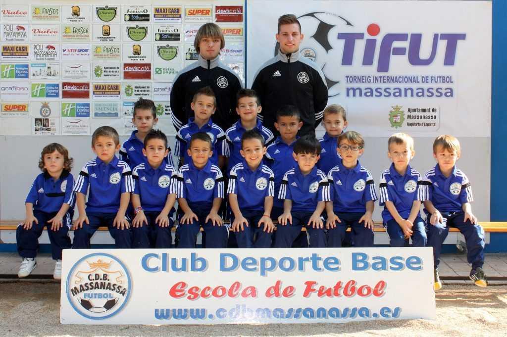 Querubines del CDB Massanassa temporada 2015-2016 | Foto: CDB Massanassa