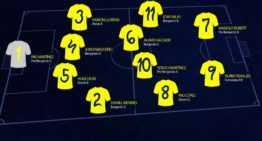 El Villarreal tiene XI de la jornada del 5 y 6 de noviembre