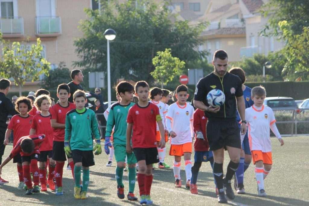 Alboraya UD y Valencia CF Benjamín A | FOTO: Alboraya UD