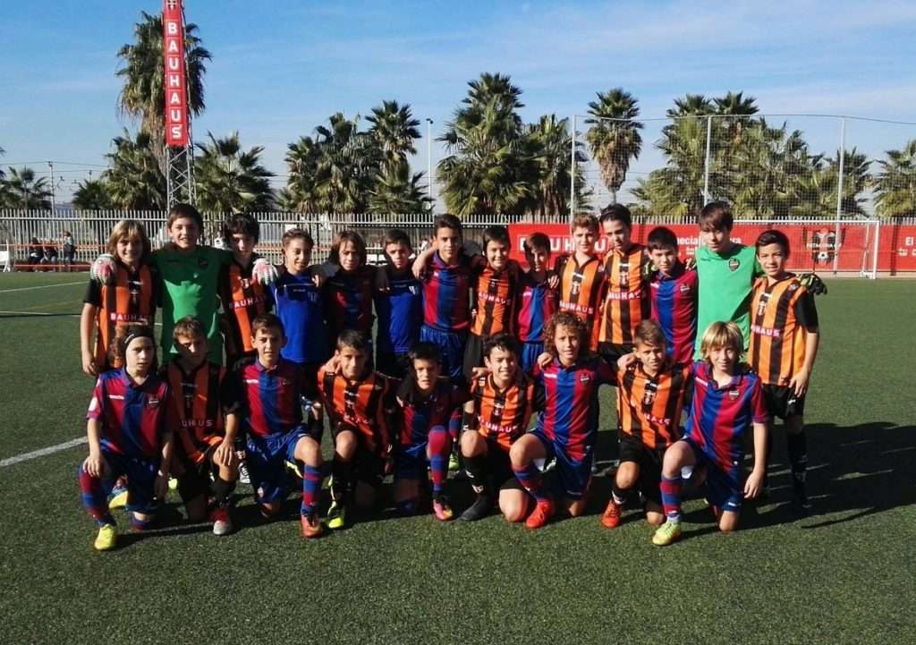 Patacona CF y Levante UD Alevin 'A' | Foto: Patacona CF