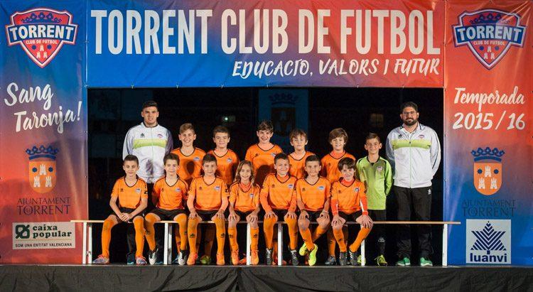 Equipo Alevín 1er Año del Torrente | Foto: Torrente CF