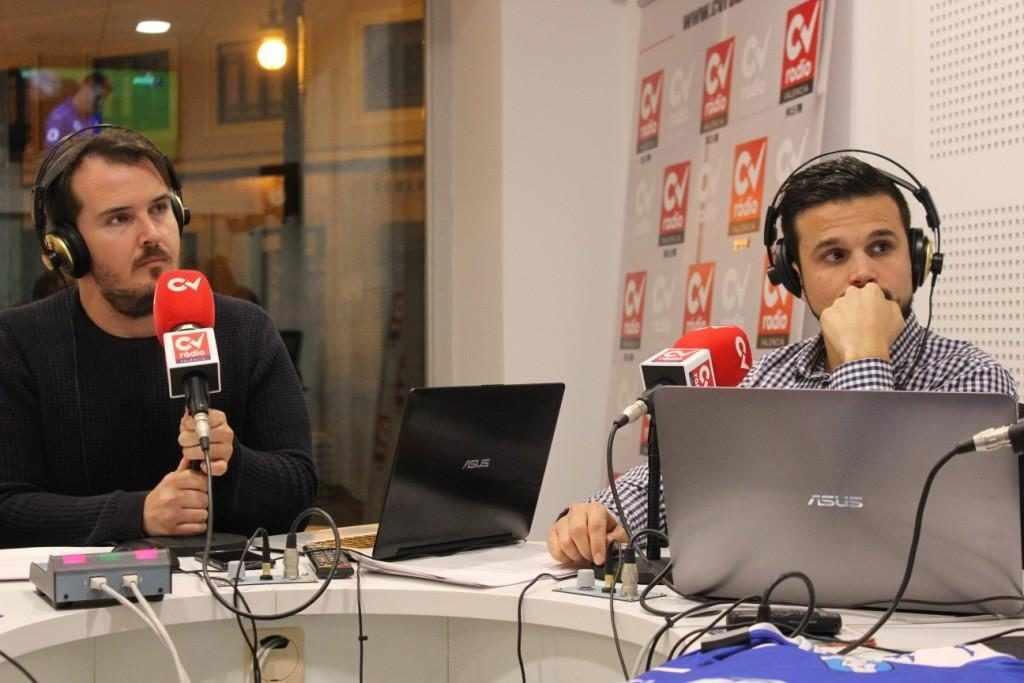 Paco Polit y Sergi López, redactores de Esportbase | Foto: Ángel Ferrer