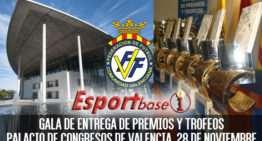 ESPORTBASE se emitirá el 28 de noviembre desde el Palacio de Congresos con motivo de la Gala FFCV
